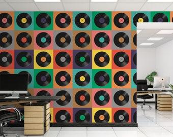 Records Wallpaper Etsy