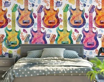 Guitar Wallpaper Etsy