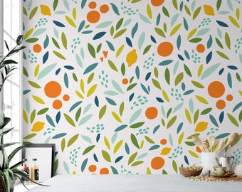 Kitchen Wallpaper Etsy