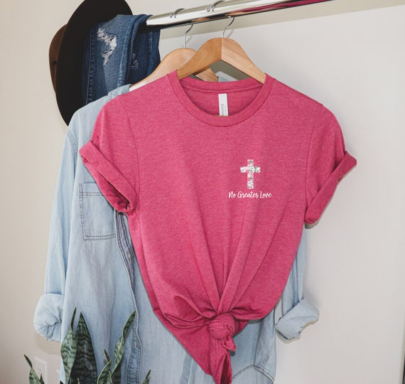 Vintage90s Driven Love Not by Nails John 15:13 Shirts size.L