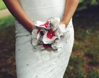 Wedding bouquet fabric / bridal bouquet / original wedding bouquet