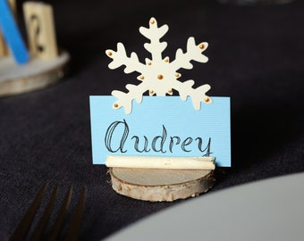 Christmas place brand / Christmas table / Christmas decoration