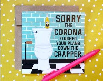 Corona Card Etsy