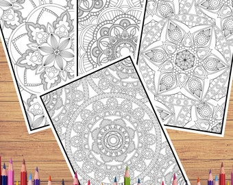 Free Intricate Mandala Coloring Pages, Download Free Clip Art ... | 270x340