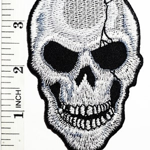 Skeleton Ghost Bride Embroidered Iron andor Sew-On Patch