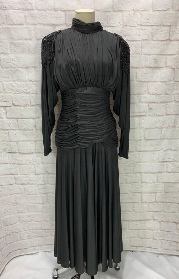 Vintage Miss Elliette Black Dress