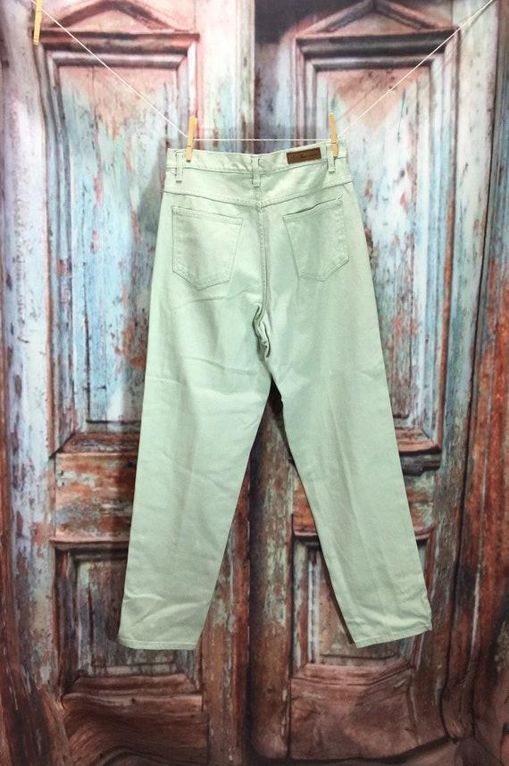 Bill Blass Mint Green Jeans