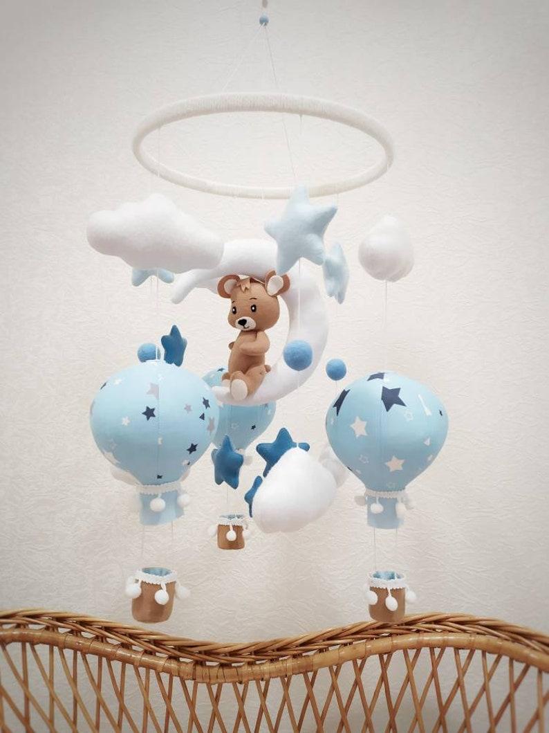Mobile pour bébé ourson - Créatrice : MobileForBaby