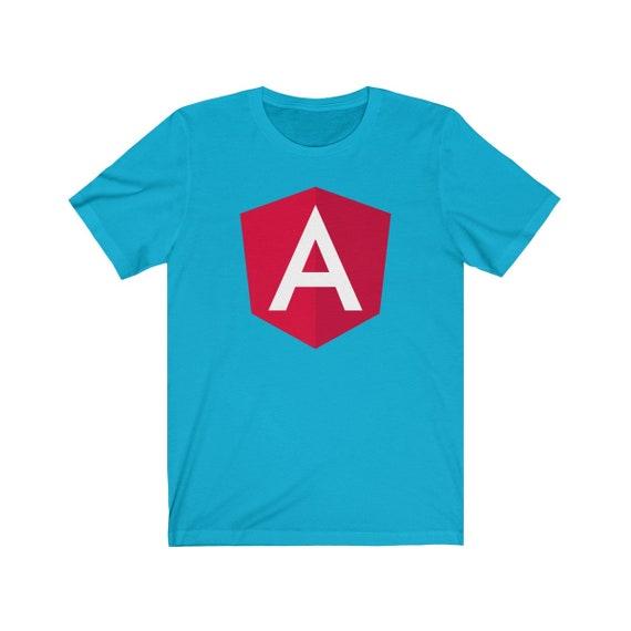 Angular Classic Turquoise - The Original Angular Logo T-shirt