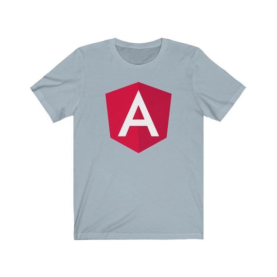 Angular Classic Light Blue - The Original Angular Logo T-shirt
