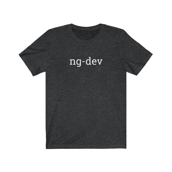 New NgDev The Angular Command Line TShirt