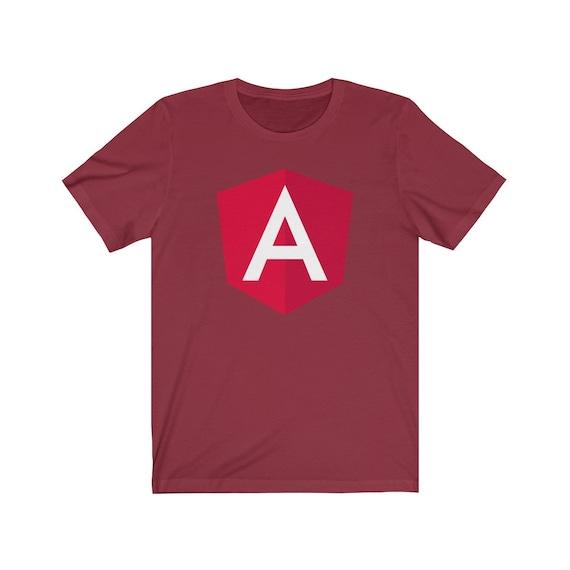 Angular Classic Red - The Original Angular Logo T-shirt