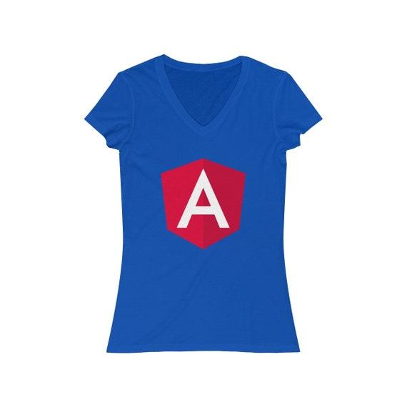 Angular Classic Blue - Women's V-neck