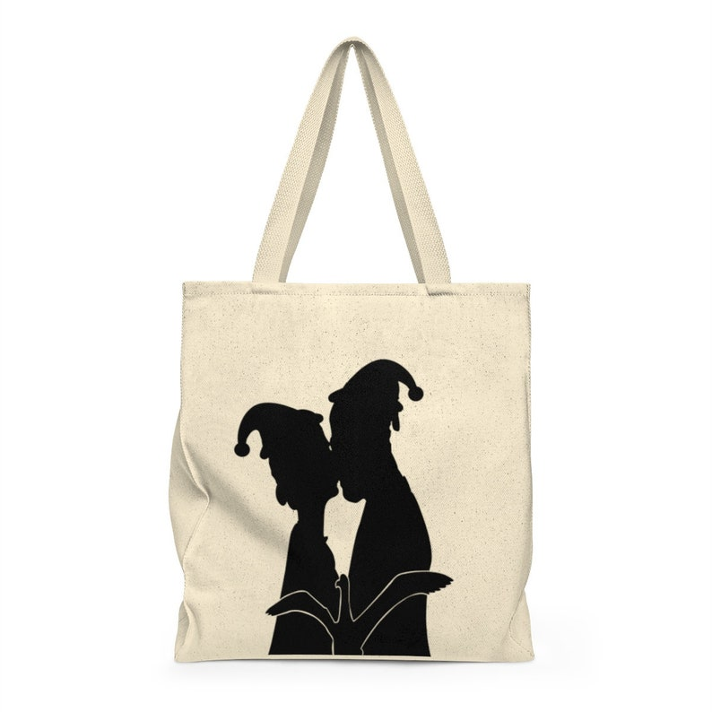 Roomy,romantic gift cute bridal gift real kissing Bag kissing Bag for her Romantic Shoulder Tote Bag