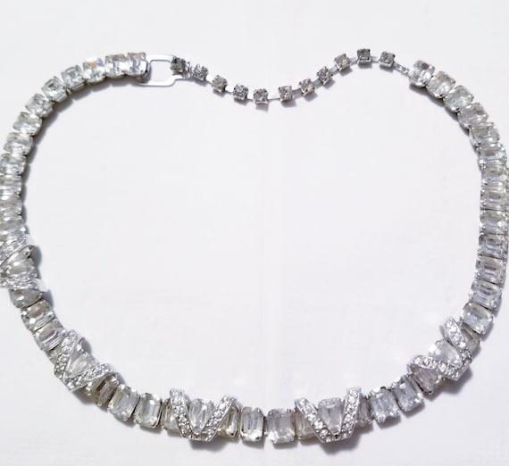 Eisenberg Crystal necklace