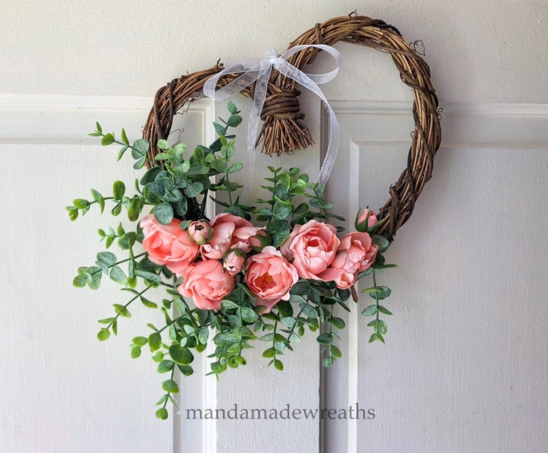 Heart Wedding WreathWedding WreathHeart Shaped Wreath