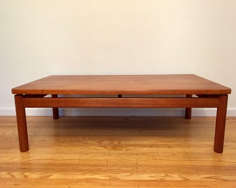3e86f000137bf Mid-century Danish teak coffee table by Trioh (LOCAL pick-up   delivery  ONLY)