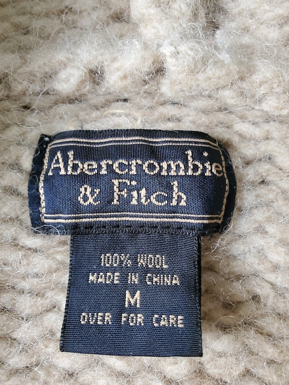 Vintage Abercrombie & Fitch Full Zip Sweater