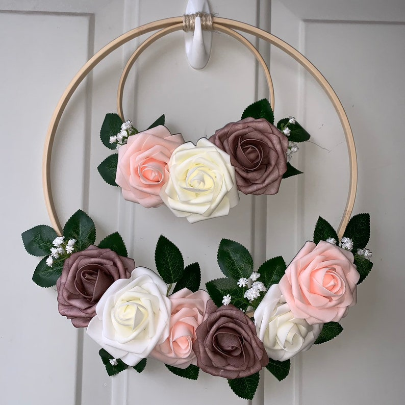 Floral Weeath Wreath Spring Wreath Door Decor