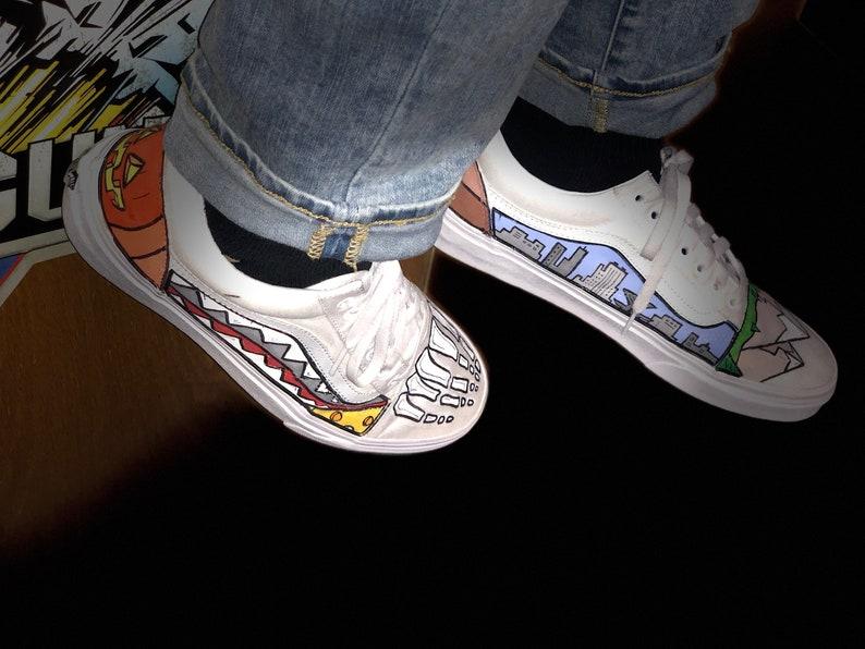 Bemalt Schuhe Personalisierte Vans Schuhe Bemalt Vans