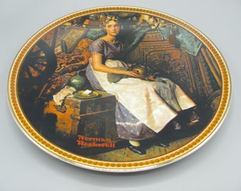 Norman Rockwell Rediscovered Women Collector Plates YOU CHOOSE Mint w//Box COA