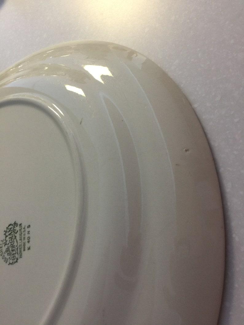 Homer Laughlin Serving Plate Georgian Eggshell #K40 N 5-14\u201d