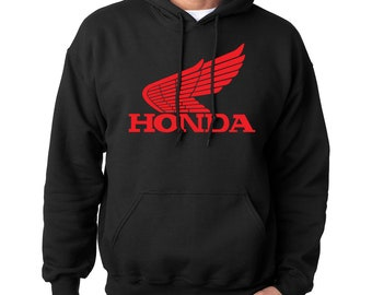 e2628979af18 Honda Hoodie Hooded Adult Sweatshirt Black  COLORS