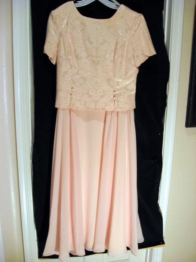 Vintage Pink Jessica McClintock Dress Size 12