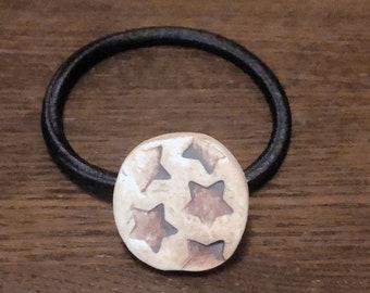 Star ceramic hair elastic band
