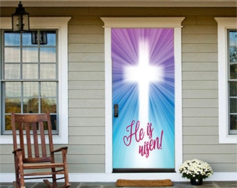 Religious Easter Wreath Etsy