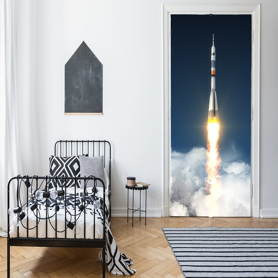 Heavy Carrier Rocket Launch Space Kids Decor Outer Space Etsy