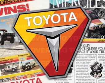 Toyota Trucks Heritage Colors Enamel Lapel Pin Tacoma Tundra 4Runner TRD FJ