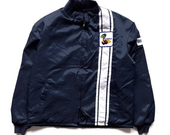 bcaf188577a1e Vintage 70s Ford cobra shelby racing jacket fleece lined good condition