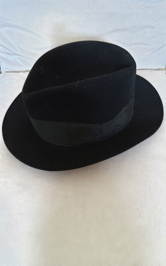 Vintage hand made womens fedora hat