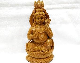 Sandalwood Krishna, Wooden krishna, Krishna statue, Iskcon Krishna, prayer statue, Krishna statue, Ladu Gopal, Murlidhar, altar statue, gift