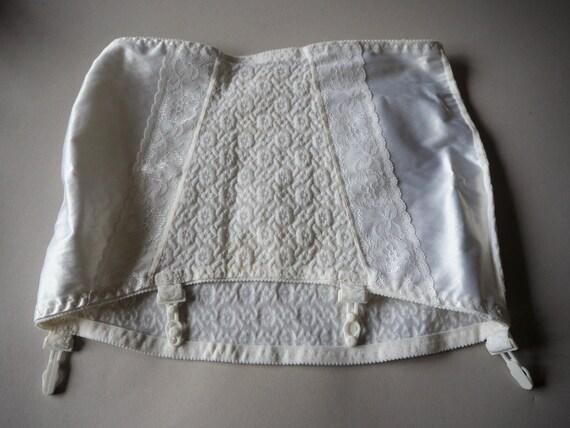Unused Girdle Soviet Time Vintage Nude Suspender G