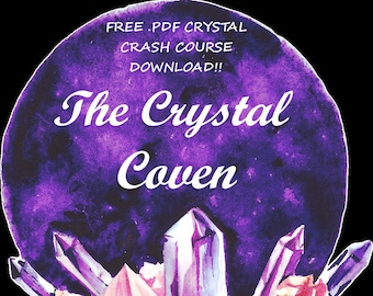 Crystal guide | Etsy
