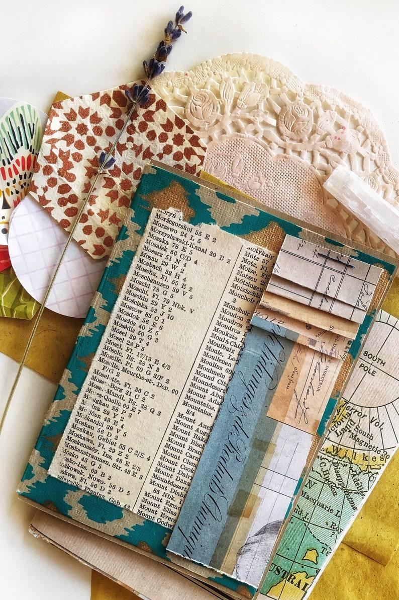 junk journals or general stationery lovers. bullet journals Punky Passport Insert for traveler/'s notebook