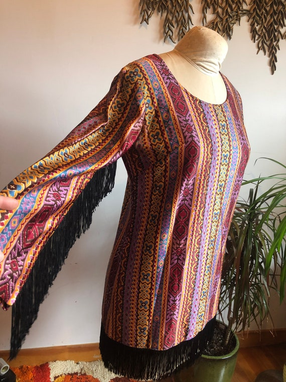 1970s Party Dress - image 4