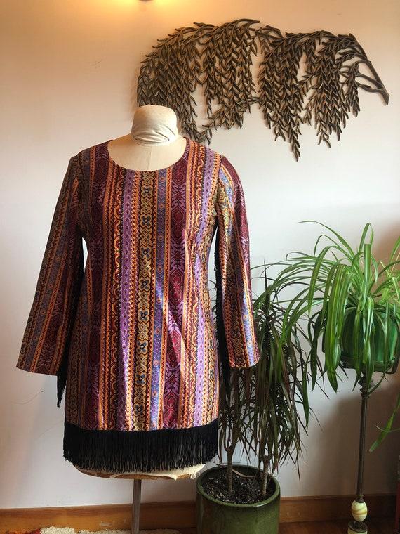 1970s Party Dress