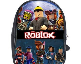Roblox Canvas Backpack Free Personalization | Etsy