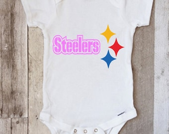 62ef8cc8f58 Pittsburgh Steelers infant onesie