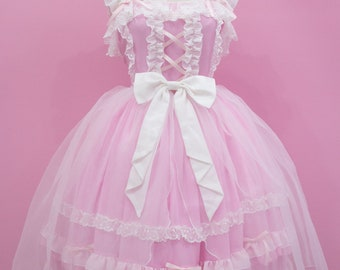 Custom size and colors- Sweet Classic Gothic Lolita fashion princess dress JSK one piece