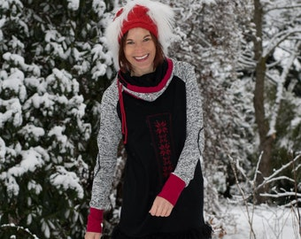 Women's sweatshirt handmade