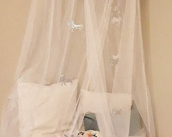 Bed canopy for girls | Etsy