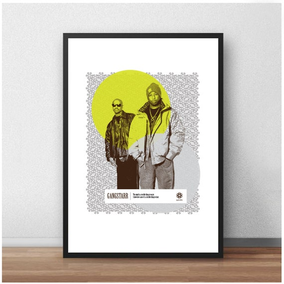 Public Enemy Hip Hop Old School Giant Wall Art Poster Print
