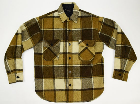 Towncraft Wool Plaid CPO Shirt Jacket