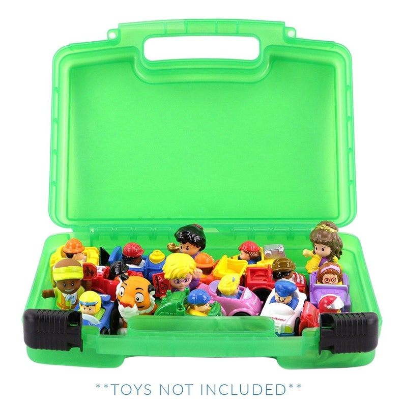 Figures... Toy Storage Carrying Box Life Made Better Little People Case