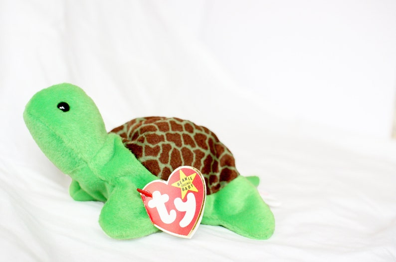 b8ed8f1f6d8 Speedy Beanie Rare Ty Beanie Baby Speedy the Turtle Beanie