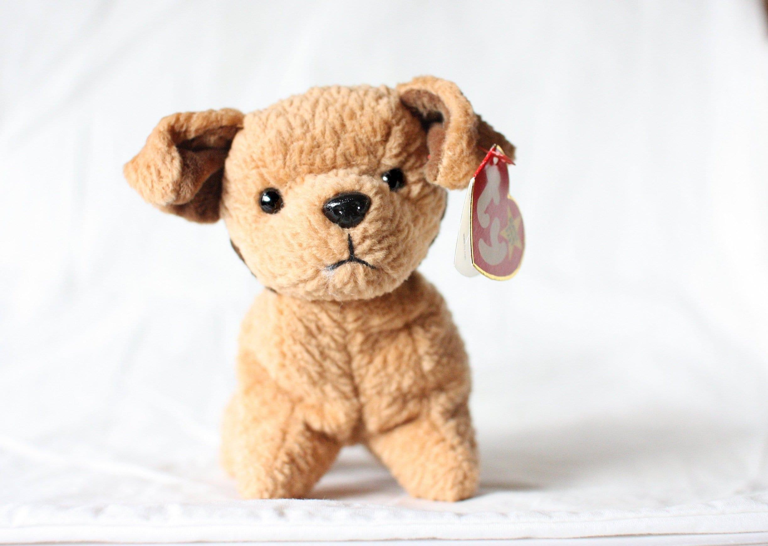 b3d27749454 Tuffy Beanie Baby Dogs Ty Beanie Babies Rare Beanie Babies